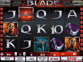 Play Blade Slot at Omni Casino